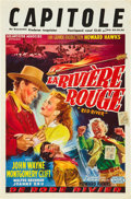 """Movie Posters:Western, Red River (United Artists, 1948). Belgian (14.5"""" X 22"""").. ..."""