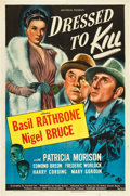"Movie Posters:Mystery, Dressed to Kill (Universal, 1946). One Sheet (27"" X 41"").. ..."