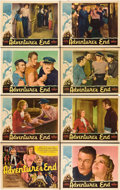 "Movie Posters:Adventure, Adventure's End (Universal, 1937). Lobby Card Set of 8 (11"" X14"").. ... (Total: 8 Items)"
