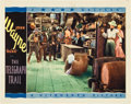 """Movie Posters:Western, The Telegraph Trail (Warner Brothers, 1933). Lobby Card (11"""" X 14"""").. ..."""