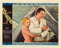 "Movie Posters:Western, The Telegraph Trail (Warner Brothers, 1933). Lobby Card (11"" X14"").. ..."