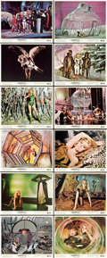 "Movie Posters:Science Fiction, Barbarella (Paramount, 1968). Color Photo Set of 12 (8"" X 10"")..... (Total: 12 Items)"