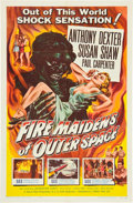 """Movie Posters:Science Fiction, Fire Maidens of Outer Space (Topaz, 1956). MPGrading One Sheet (27""""X 41"""").. ..."""