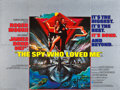 """Movie Posters:James Bond, The Spy Who Loved Me (United Artists, 1977). British Quad (30"""" X40"""").. ..."""
