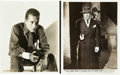 "Movie Posters:Crime, Humphrey Bogart (Warner Brothers, 1938-1940). Photos (2) (8"" X10"").. ... (Total: 2 Items)"