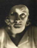 "Movie Posters:Drama, Greta Garbo by Clarence Sinclair Bull (MGM, 1929). Portrait Photo(9.75"" X 12.75"").. ..."