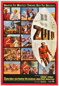 "Movie Posters:War, Zulu (Embassy, 1964). Double Sided One Sheet (27"" X 41"").. ..."