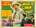 """Movie Posters:Mystery, The Trap (Monogram, 1946). Half Sheet (22"""" X 28"""").. ..."""