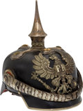 Military & Patriotic:WWI, Prussian Dragoon Officers' Pickelhaube....