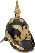 Military & Patriotic:WWI, Grand Dukedom of Baden Pattern 1849 Infantry Other RanksPickelhaube....