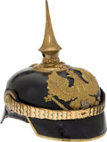 Military & Patriotic:WWI, Prussian Administrative Officials' Pickelhaube....
