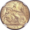 Commemorative Gold, 1915-S $2 1/2 Panama-Pacific Quarter Eagle MS66 NGC....
