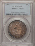 Bust Half Dollars, 1832 50C Small Letters MS62 PCGS. O-103, R.1....
