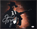 Boxing Collectibles:Autographs, Floyd Mayweather Signed Oversized Photograph....