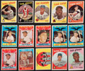 Baseball Cards:Lots, 1959 Topps Baseball Collection (367) Including Two Mantles and ManyStars. ...