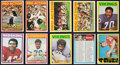 Football Cards:Sets, 1972 Topps Football High Number Near Set (81/88). ...