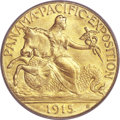 Commemorative Gold, 1915-S $2 1/2 Panama-Pacific Quarter Eagle MS66 PCGS. CAC....
