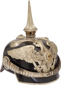 Military & Patriotic:WWI, Prussian General Staff Officers' Pickelhaube With the Original Storage Case....