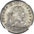 Early Dollars, 1801 $1 MS62 NGC. B-1, BB-211, R.3....