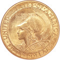 Commemorative Gold, 1915-S $50 Panama-Pacific 50 Dollar Round MS64 NGC. CAC....