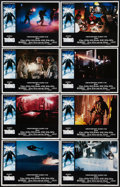 """Movie Posters:Horror, The Thing (Universal, 1982). Lobby Card Set of 8 (11"""" X 14""""). Horror.. ... (Total: 8 Items)"""