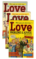 Golden Age (1938-1955):Romance, True Love Problems and Advice Illustrated File Copies Group(Harvey, 1949-57) Condition: Average VF.... (Total: 50 Comic Books)
