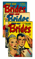 Golden Age (1938-1955):Romance, Teen-Age Brides File Copies Group (Harvey, 1953-58) Condition:Average VF.... (Total: 26 Comic Books)