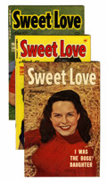 Golden Age (1938-1955):Romance, Sweet Love File Copies Group (Harvey, 1945-50).... (Total: 3 )