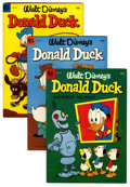 Golden Age (1938-1955):Cartoon Character, Donald Duck Group (Dell, 1953-55) Condition: Average FN.... (Total:8 Comic Books)