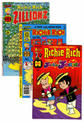 Bronze Age (1970-1979):Cartoon Character, Richie Rich Related File Copies Group (Harvey, 1973-79) Condition:Average NM.... (Total: 7 Comic Books)