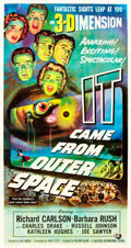 "Movie Posters:Science Fiction, It Came from Outer Space (Universal International, 1953). ThreeSheet (41"" X 81"").. ..."
