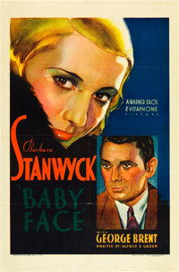"""Baby Face (Warner Brothers, 1933). One Sheet (27"""" X 41"""")"""