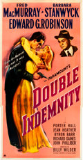 "Movie Posters:Film Noir, Double Indemnity (Paramount, 1944). Three Sheet (41"" X 81"").. ..."