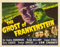"""Movie Posters:Horror, The Ghost of Frankenstein (Universal, 1942). Title Lobby Card (11"""" X 14"""").. ..."""