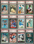 Baseball Cards:Lots, 1980's to 2000's Multi-Brand Baseball Collection (59) - All PSAGraded! ...
