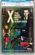 Silver Age (1956-1969):Horror, Movie Comics (Gold Key) X, the Man With the X-Ray Eyes #nn (GoldKey, 1963) CGC NM- 9.2 Off-white to white pages....