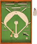 Baseball Collectibles:Others, 1939 Pennant Winner Mechanical Baseball Game....