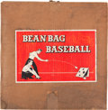Baseball Collectibles:Others, 1943 Bean Bag Baseball....