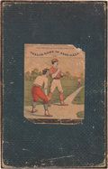Baseball Collectibles:Others, Circa 1890 Parlor Game of Baseball....