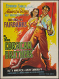 """Movie Posters:Adventure, The Corsican Brothers (Mudnaney Film, R-1950s). Indian Poster (30'X 40"""") Style B. Adventure.. ..."""