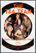 """Movie Posters:Adult, The T&A Team Lot (SRC Films, 1984). One Sheets (2) (27"""" X 41""""). Adult.. ... (Total: 2 Items)"""