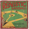 Baseball Collectibles:Others, 1925 Realistic Baseball....