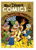Golden Age (1938-1955):Cartoon Character, Walt Disney's Comics and Stories #45 (Dell, 1944) Condition: FN....