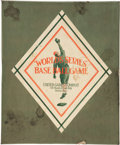 Baseball Collectibles:Others, 1916 World Series Baseball Game....