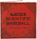 Baseball Collectibles:Others, Early 1900's Lloyd's Scientific Baseball - America's NationalGame....