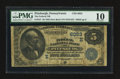 National Bank Notes:Pennsylvania, Pittsburgh, PA - $5 1882 Date Back Fr. 537 The Federal NB Ch. #(E)6023. ...