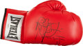 "Boxing Collectibles:Autographs, Ray ""Boom Boom"" Mancini Signed Boxing Glove. ..."