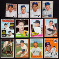 Baseball Cards:Lots, 1950 - 1978 Bowman and Topps New York Yankees Stars Collection(33). ...