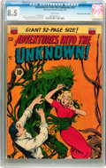 Golden Age (1938-1955):Horror, Adventures Into The Unknown #32 Mile High pedigree (ACG, 1952) CGCVF+ 8.5 White pages....