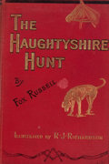 Books:First Editions, Fox Russell. The Haughtyshire Hunt. London: Bradbury, Agnew,1897. First edition. Octavo. Publisher's binding an...